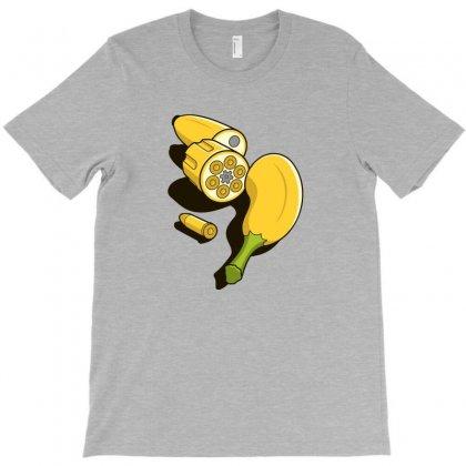 Banna Gun Fully Loaded T-shirt Designed By Mdk Art