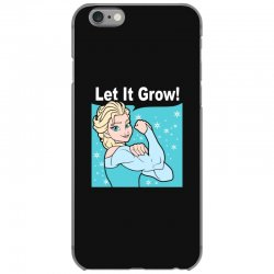 funny gym elsa let it grow frozen fitness iPhone 6/6s Case | Artistshot