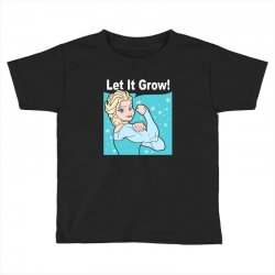 funny gym elsa let it grow frozen fitness Toddler T-shirt | Artistshot