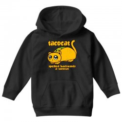 funny tacocat Youth Hoodie | Artistshot