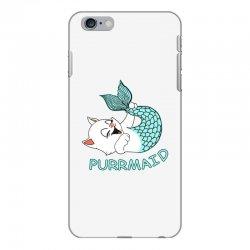 funny purr maid cat mermaid iPhone 6 Plus/6s Plus Case | Artistshot