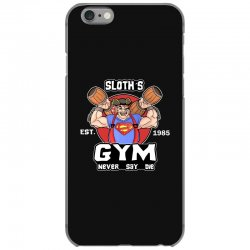 funny gym sloth the goonies fitness t shirt vectorized iPhone 6/6s Case | Artistshot