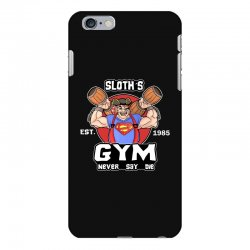 funny gym sloth the goonies fitness t shirt vectorized iPhone 6 Plus/6s Plus Case | Artistshot