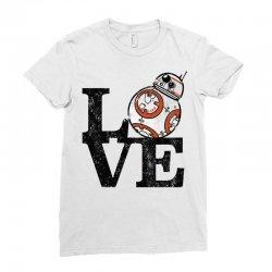 love bb Ladies Fitted T-Shirt   Artistshot