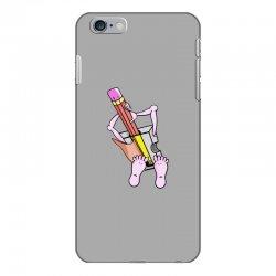 Funny cartoon pencil sharpener iPhone 6 Plus/6s Plus Case | Artistshot