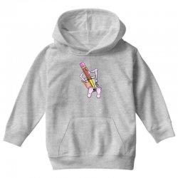 Funny cartoon pencil sharpener Youth Hoodie   Artistshot