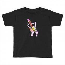 Funny cartoon pencil sharpener Toddler T-shirt | Artistshot
