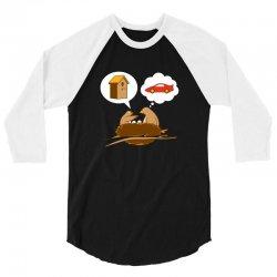 Funny Priorities 3/4 Sleeve Shirt | Artistshot