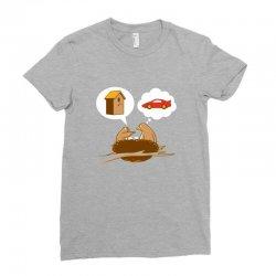Funny Priorities Ladies Fitted T-Shirt | Artistshot