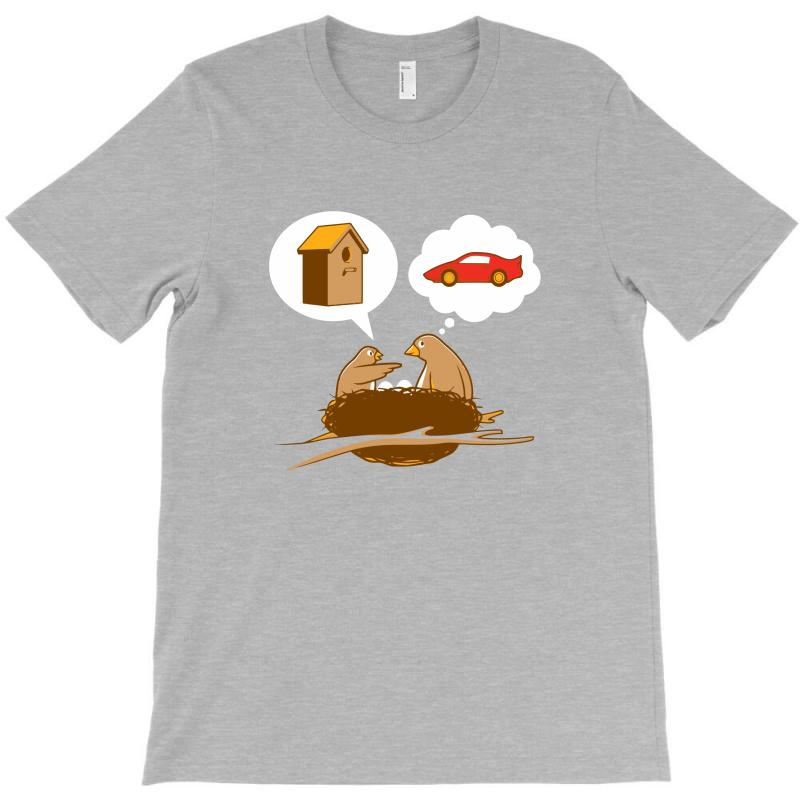 Funny Priorities T-shirt | Artistshot