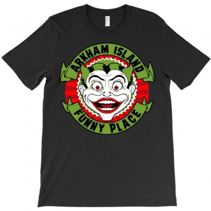 Funny Place T-shirt Designed By Mdk Art