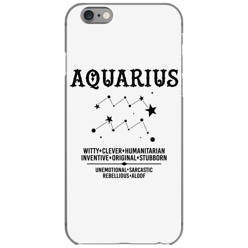 Aquarius Zodiac Sign Iphone 6/6s Case  By Artistshot