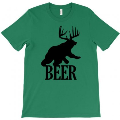 Beer Dear Bear Funny T-shirt Designed By Gematees