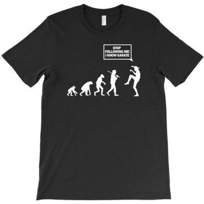 Funny Karate Evolution T-shirt Designed By Gematees