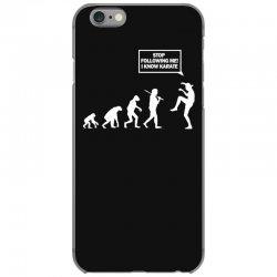 funny karate evolution iPhone 6/6s Case   Artistshot