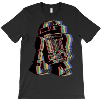 Robot Full Colour T-shirt Designed By Mdk Art