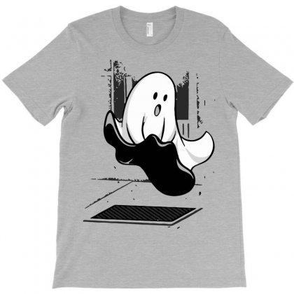 Ghost Funny T-shirt Designed By Mdk Art