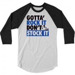 otta rock it   j3 sports 3/4 Sleeve Shirt   Artistshot