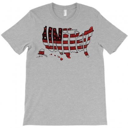United States T-shirt Designed By Mdk Art