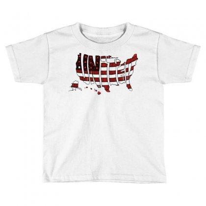 United States Toddler T-shirt Designed By Mdk Art