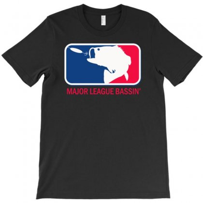Major League Bass Funny Fishing T-shirt Designed By Gematees