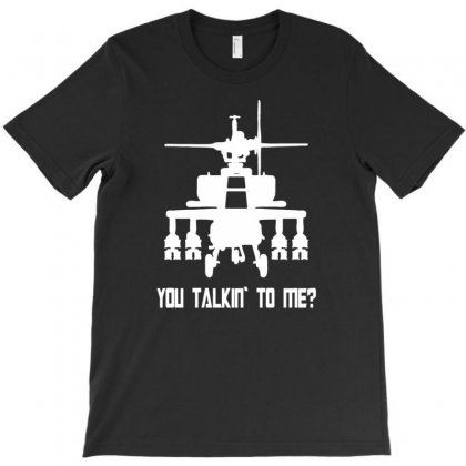 Attach Helicopter T-shirt Designed By Gematees