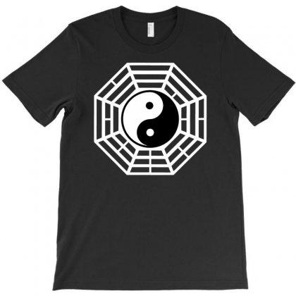 I Ching Ying And Yang T-shirt Designed By Gematees