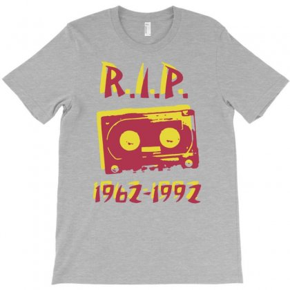 Retro Cassette Tape Rip T-shirt Designed By Gematees