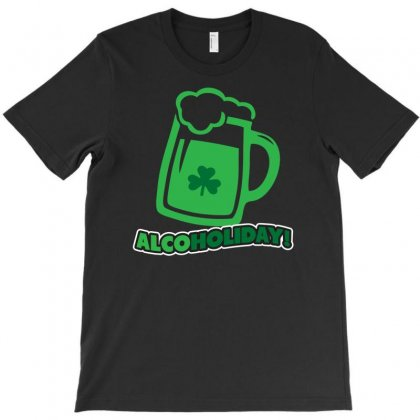 Alcoholiday T-shirt Designed By Gematees