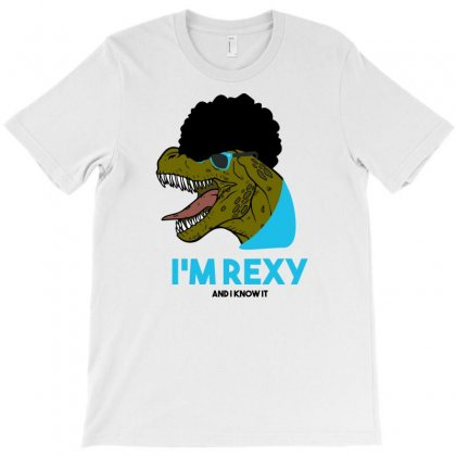 I'm Rexy And I Know It Vectorize T-shirt Designed By Gematees