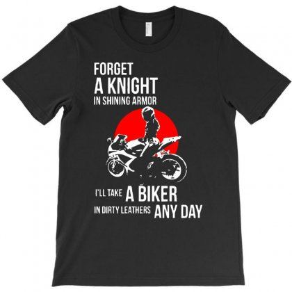 Take Biker In Dirty T-shirt Designed By Gematees