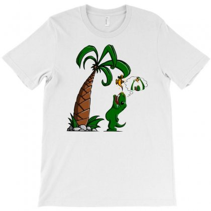 T Rex Wants To Make A Wish T-shirt Designed By Gematees