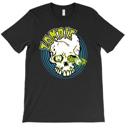 Zombie Eye T-shirt Designed By Gematees