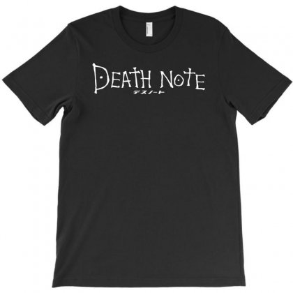 Death Note Anime T-shirt Designed By Tonyhaddearts