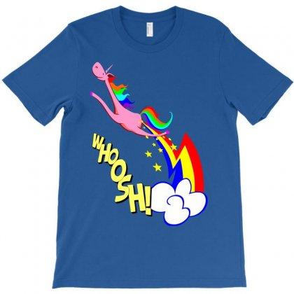Cute Flying Unicorn Fart T-shirt Designed By Gematees