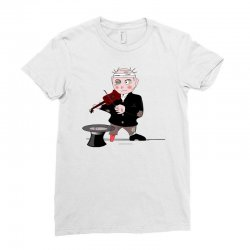 music for life Ladies Fitted T-Shirt | Artistshot