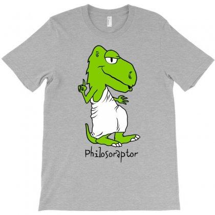 Philosoraptor T-shirt Designed By Gematees