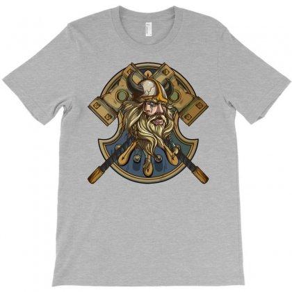 Viking Warrior T-shirt Designed By Gematees