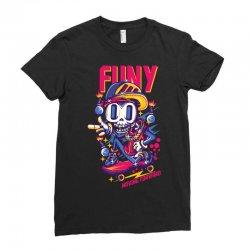 funny skate Ladies Fitted T-Shirt | Artistshot