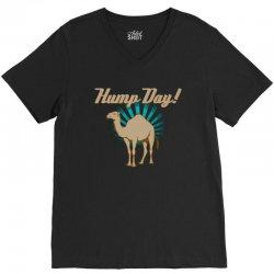funny hump day camel V-Neck Tee | Artistshot