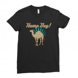 funny hump day camel Ladies Fitted T-Shirt   Artistshot