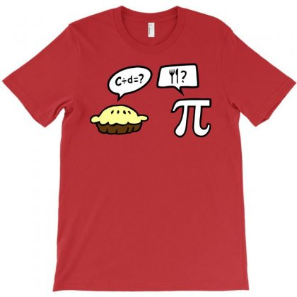 Pie And Pi T-shirt Designed By Tonyhaddearts