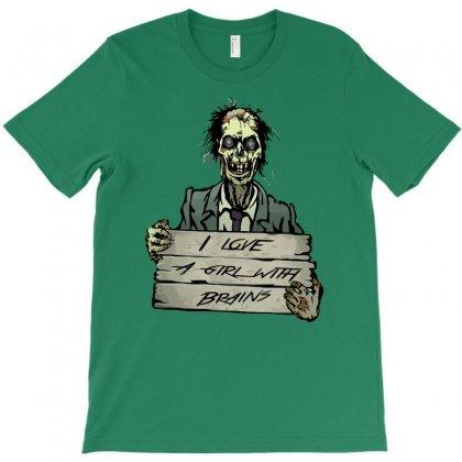 Zombie T-shirt Designed By Tonyhaddearts
