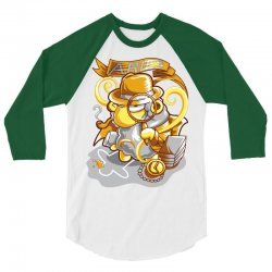 FUNNY ZODIAC SIGNS ARIES 3/4 Sleeve Shirt | Artistshot