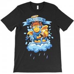 FUNNY ZODIAC SIGNS AQUARIUS T-Shirt | Artistshot
