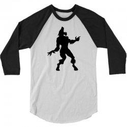 werewolf dancing 3/4 Sleeve Shirt | Artistshot