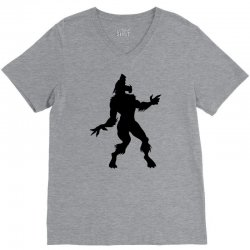 werewolf dancing V-Neck Tee | Artistshot