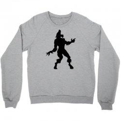 werewolf dancing Crewneck Sweatshirt | Artistshot