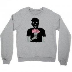 zombie treat ice cream Crewneck Sweatshirt | Artistshot