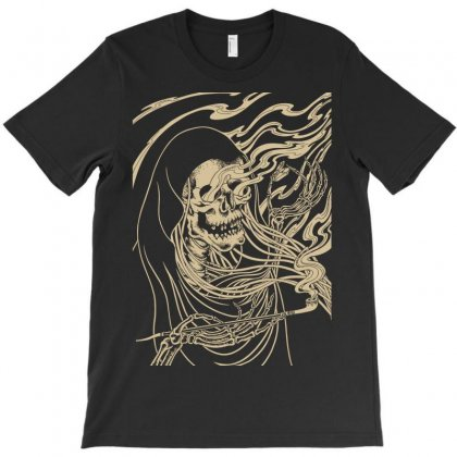 Smoker Skull T-shirt Designed By Jokers
